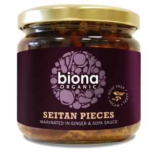 Biona Organic Seitan Pieces (in Soya Sauce & Ginger) 350g