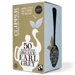 Clipper Organic Earl Grey Tea 50 Teabags