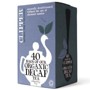 Clipper Organic Decaffeinated Everyday Tea 40 Teabags