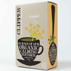 Clipper Organic Fennel Tea 20 Teabags