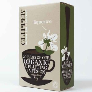 Clipper Organic Liquorice Tea 20 Teabags