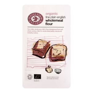 Doves Farm Organic Plain Wholemeal Flour 1kg