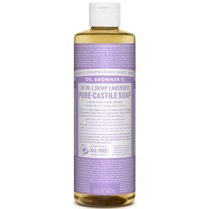 Dr Bronner Lavender Pure Castille Liquid Soap 472ml