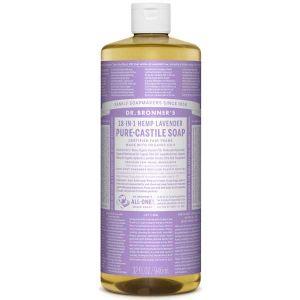 Dr Bronner Lavender Pure Castille Liquid Soap 944ml