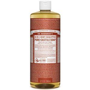 Dr Bronner's Pure Liquid Castile Soap Eucalyptus 946ml