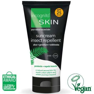 Incognito Skin SPF 25 Suncream Insect Repellent 150ml