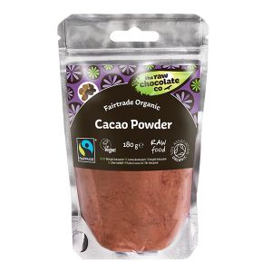The Raw Chocolate Co Fairtrade Organic Cacao Powder 180g