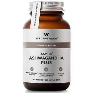 Wild Nutrition General Living KSM-66 Ashwagandha Plus 60 Capsules