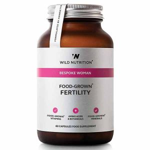 Wild Nutrition Bespoke Woman Food-Grown Fertility 60 Capsules