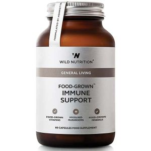 Wild Nutrition General Living Food-Grown Immune Support 60 Capsules
