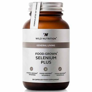 Wild Nutrition General Living Food-Grown Selenium Plus 30 Capsules