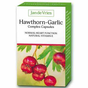 Jan de Vries Hawthorn-Garlic Complex 90 Capsules