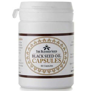 The Blessed Seed Black Seed Oil 60 (halal Gelatine) Capsules