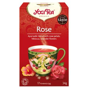 Yogi Rose Organic Tea 17 Teabags