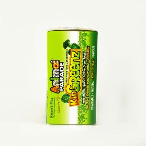 Natures Plus Animal Parade Kid Greenz Tropical Fruit Flavour 90