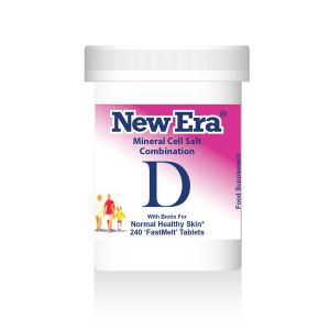 New Era Mineral Cell Salts Combination D 240 'fastmelt' Tablets