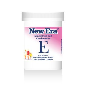 New Era Mineral Cell Salts Combination E 240 'fastmelt' Tablets