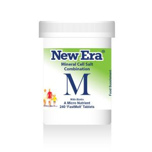 New Era Mineral Cell Salts Combination M 240 'fastmelt' Tablets