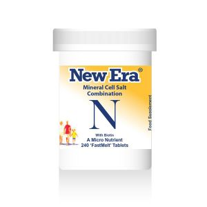 New Era Mineral Cell Salts Combination N 240 'fastmelt' Tablets