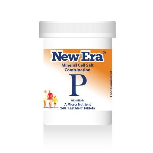 New Era Mineral Cell Salts Combination P 240 'fastmelt' Tablets
