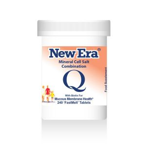 New Era Mineral Cell Salts Combination Q 240 'fastmelt' Tablets