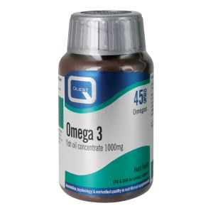 Quest Omega 3 Fish Oil Concentrate 1000mg