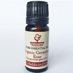 Baldwins Geranium Rose ( Pelargonium graveolens) Organic Essential Oil