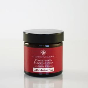 Pomegranate, Bilberry & Rose Cleansing Facial Scrub 60ml
