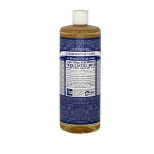 Dr Bronner's 18-in-1 Peppermint Pure Castile Soap