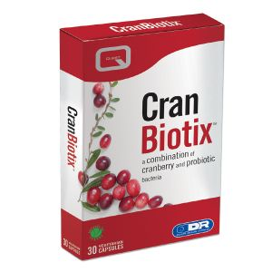 Quest Cran Biotix 30 Vegan Friendly Capsules