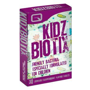 Quest Kidz Biotix 30 Vegan Chewable Blackcurrant Flavour Tablets