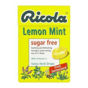 Ricola Lemon, Mint & Vitamin C Lozenges Sugar Free 45g