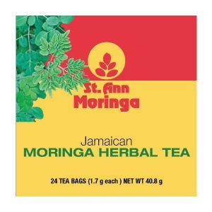St. Ann Jamaican Moringa Herbal Tea ~ 24 Tea Bags