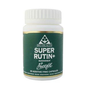 Bio-health Super Rutin + Buckwheat 60mg Rutin/130mg Buckwheat 60 Vegetarian Capsules