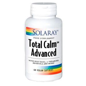 Solaray Total Calm Advanced 60 Vegetable Capsules
