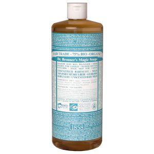 Dr Bronner Un-scented Baby-mild Pure Castille Liquid Soap