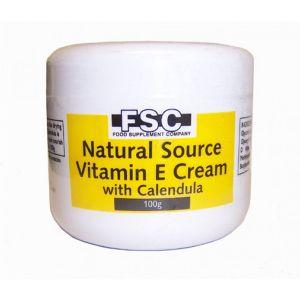 Fsc Vitamin E Cream With Calendula 100g