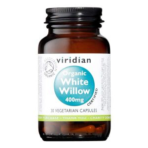 Viridian Organic White Willow 400mg