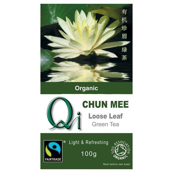 Qi Organic Chun Mee China Green Tea Loose 100g G Baldwin Co