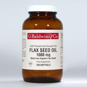 Baldwins Flaxseed Oil 1000mg
