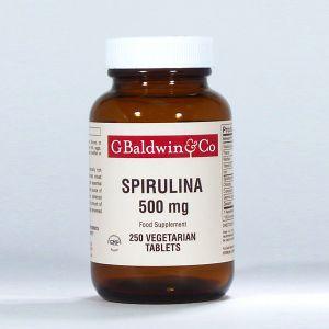 Baldwins Organic Spirulina 500mg