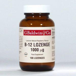 Baldwins B12 Lozenge 1000mcg 100 Lozenges