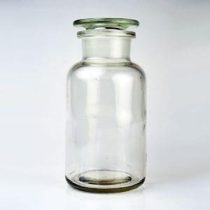 Baldwins Glass Reagent Jar 500ml Clear