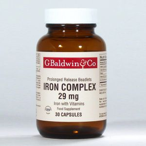 Baldwins Iron Complex 29mg (prolonged Release) 30 Beadlets