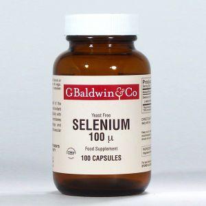 Baldwins Selenium 100mcg 100 Capsules