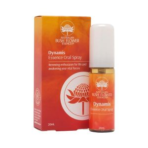 Australian Bush Flower Essences Oral Spray 20ml Dynamis