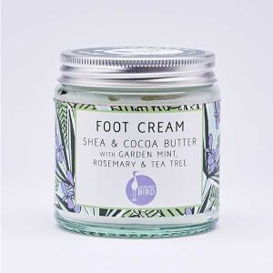 Laughing Bird Shea Butter Foot Cream With Mint, Rosemary & Tea Tree