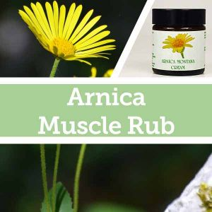 Baldwins Remedy Creator - Arnica Muscle Rub