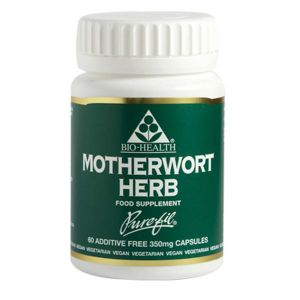 Bio-Health Motherwort 350mg 60 Vegan Capsules