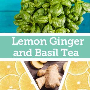 Baldwins Remedy Creator - Lemon Ginger and Basil Tea
